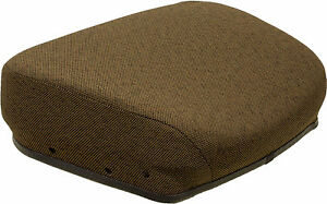 John Deere 40 Personal Posture Brown Seat Cushion Replaces Ar82944 And Re188578