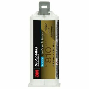 3m 00021200313103 Dp 810 Fast cure 2 Part Tan Acrylic Epoxy