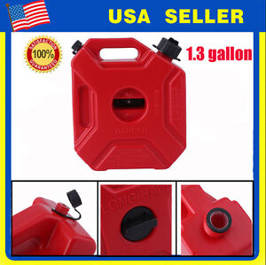 1 3 Gallon 5l Gas Container Oil Pack Fuel Can W Lock Jeep atv utv