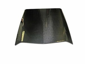 2010 2012 Ford Mustang Carbon Fiber Oe Style Hood Scoop