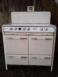1950 S O Keefe And Merritt Stove And Range Antique Vintage