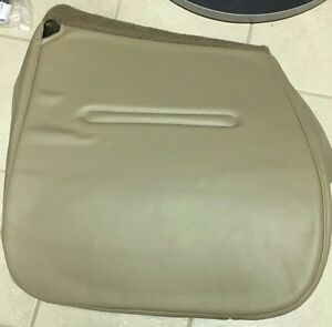 99 04 Ford F250 Xl Diesel Service Utility Bed Driver Bottom Vinyl Seat Cover Tan