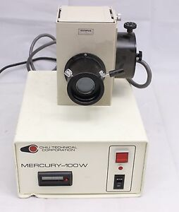Olympus Bh2 Imt2 100w Hbo Mercury Fluorescence Microscope Lamp Power Supply