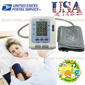 New Digital Blood Pressure Monitor Sphygmomanometer Contec08c Software usa