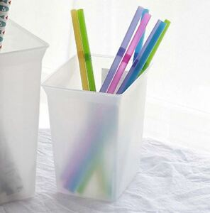 Plastic Simple Container 1 Liter white Bin Bucket Box 10 Days Shipping For Us