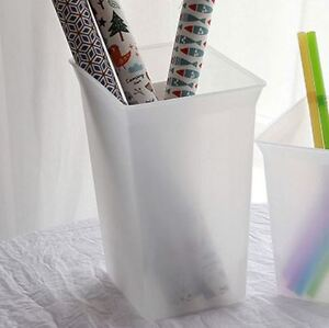 Plastic Simple Container 1 8 Liter white Bucket Box 10 Days Shipping For Us