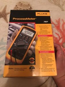 Fluke 787 Processmeter Dmm new In Box Msrp 715