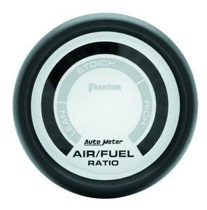 Auto Meter Phantom 52mm Electronic Air Fuel Ratio Gauge