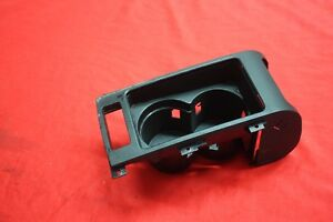 2000 2006 Bmw X5 E53 Center Console Front Dual Cup Holder W O Lid Cover Oem