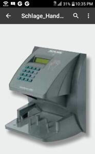 New Handpunch 3000 Hp3000 Biometric Time Clock