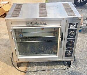 Bk Industries Commercial Hickory Rotisserie Oven Countertop Model Fs