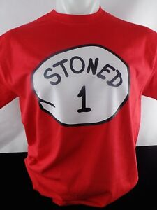 Stoned 1 2 3 4 5 6 Heat Press Transfer Design T shirt Sweatshirt Bag Tote