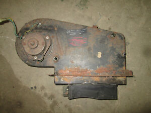1974 80 Mgb Complete Heater Box Heater Core And Fan