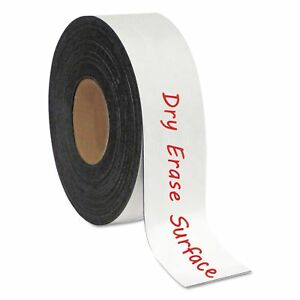 Mastervision Fm2118 Dry Erase Magnetic Tape Roll White 2 X 50 Ft