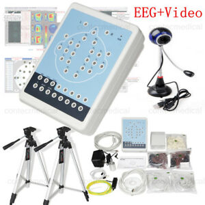 Kt88 1016 Digital 16 Channel Eeg mapping Systems Machine video Camera Software