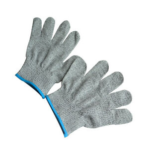 Brand New Cut Protection Gloves Personal Protective Gray Kitchen Gloves Elysaid