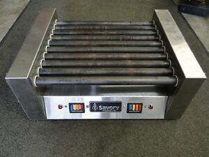 Savory Alco Sg22s Commercial Concession Restaurant Hot Dog Roller 110v Cooker