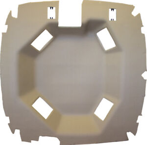 John Deere Sailcloth Tan Vinyl Headliner Fits 9000 9100 9200 9300 9400 9110 Etc
