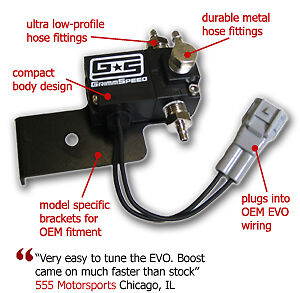 Grimmspeed Electronic Boost Control Solenoid Evolution Evo 7 8 9 Ebcs Free Ship