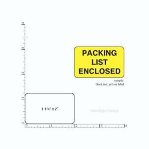 1 000 Printed Labels Rectangle 1 1 4 X 2 Custom Business Stickers 1 Ink Color