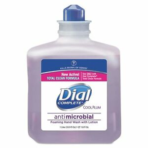 Dial Professional 81033ct Antimicrobial Foaming Hand Wash Cool Plum Scent