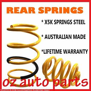 Mazda 323 Bg Inc Astina Bg1061 2 Bg10p1 2 1989 1996 Rear Standard Height Springs