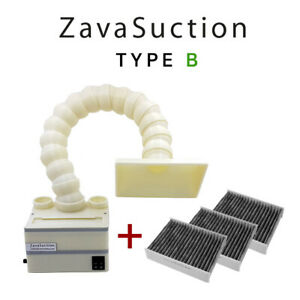 Soldering Smoke Absorber Remover Fume Extractor Fan Zavasuction Type A And B
