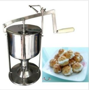 Manual Donut Puff Filler Jelly Filling Cream Filled 6l Kitchen Tool Cooking U