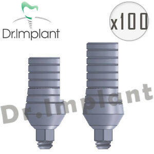 100 Straight Abutment 5 5mm Dental Implant Comp With Alpha Bio Biohorizons