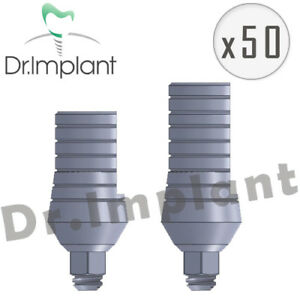 50 Straight Abutment 5 5mm Dental Implant Comp With Alpha Bio Biohorizons