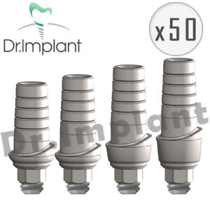 50 Straight Abutment Anatomic Dental Implant Comp With Alpha Bio Biohorizons