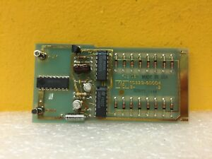 Hp Agilent 10529 60004 Self Test Card For 10529a Logic Comparator New