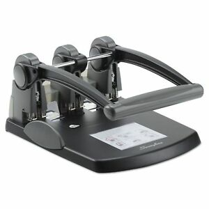Swingline 74194 300 sheet Extra High capacity Three hole Punch 932 Holes