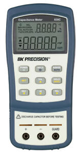Bk Precision 830c Capacitance Meter To 200 Mf
