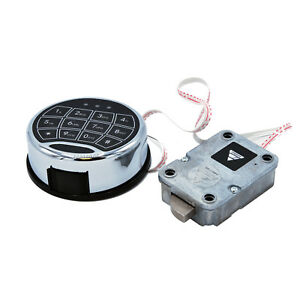 Ambition Electronic Digital Keypad Lock For Safes Swing Bolt System Safe Lock
