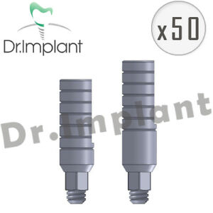50 Straight Abutment 3 0mm Dental Implant Comp With Alpha Bio biohorizons Etc