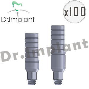 100 Straight Abutment 3 0mm Dental Implant Comp With Alpha Bio biohorizons Etc