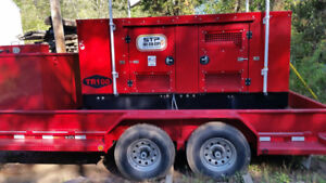 2014 Perkins Diesel Generator 125 Kva 1 3 Ph Mint Con 2305 Hours Rental Grade