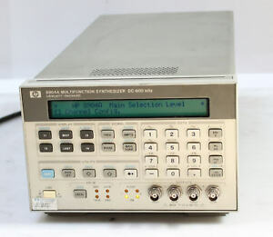 Hp agilent 8904a Dc 600khz Multifunction Synthesizer Generator Opt 002 005