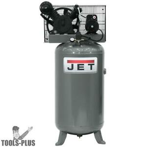 Jet 506801 5hp 230v 1ph 80 Gallon Vertical Air Compressor New
