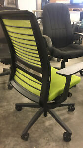 Steelcase Think Adjustable Office Chair Green