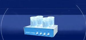 Magnetic Stirrer 4 Row Laboratory Use