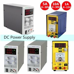 5a 10a 30v Variable Precision Switching Dc Power Supply Adjustable Digital Lab J