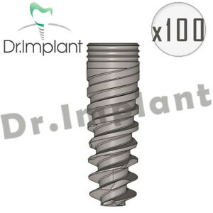 100 Spiral Implant Internal Hex Dental Implant Co With Alpha Bio Biohorizons