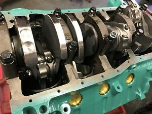 351w 427 Ford Roller Short Block 4340 Steel Crank 560 hp Pump