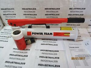 Spx 2 Stage P159 Hand Operated Hydraulic Pump W 15 Ton Cylinder C152c New