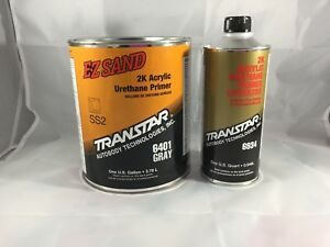 Transtar 6401 Gray Ez Sand 2k Acrylic Urethane Primer can t Ship To California