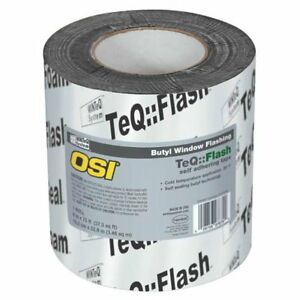 Osi 1532159 Winteq Teqflash Butyl Window Flashing Tape 6 X 75 39