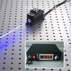 450nm 500mw Blue Laser Dot Module Ttl analog Tec Adjustable Power 85v 265v