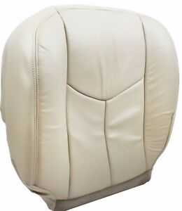 2006 2005 2004 2003 Cadillac Escalade Driver Lower Leather Seat Cover In Tan 152
